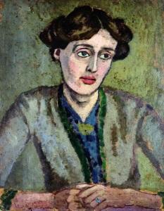 Rofer Fry'ın fırçasından Virginia Woolf